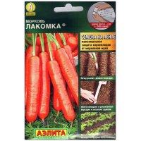 Морковь Лакомка, на ленте