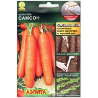 Морковь Самсон, на ленте