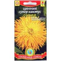 Цинния супер кактус Солнце