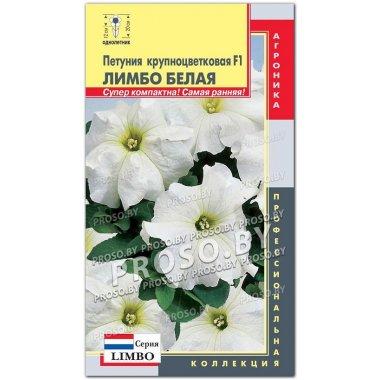 Петуния крупноцветковая Лимбо Белая F1, серия LIMBO