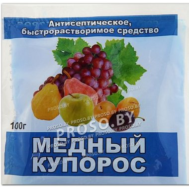 Медный купорос (антисептическое средство), 100 гр.